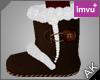 ~AK~ Winter Boots: Brown