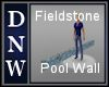 Fieldstone Pool Wall