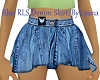 L / Blue Denim Skirt RLS