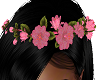FG~ Glitter Floral Tiara