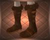 Fur Boots Brown