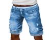 Shorts Men Blue Jeans