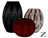 Z: Black And Red Vases