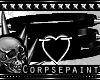 Spiky Goth Heart Choker