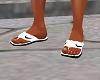 Nike sandals white