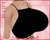 -L-Extra Bimbo Black Top