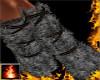 HF Fur Leg Wraps Ashes