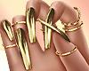 💛 Goldie Nails