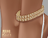 Leo anklet chain