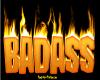 {LA} Badass in flames