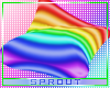 ⓢ Rainbow Cushion