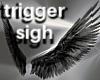T- Angel Wings black