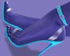 Mel Turquoise Heels