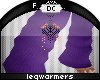 ~Dc) % Warmers Purple