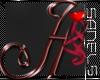 Valentine  Letter H