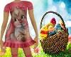 Tot  Bunny Dress/Socks