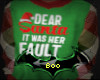 Dear Santa Sweater M