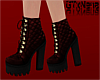 ~GT~ Red Quilted Boots