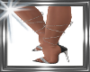 ! black silver heels