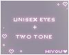 Derivable Eyes M/F 2T