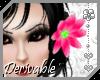 ~AK~ Drv Hair Flower (L)