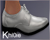 K silver power shoes