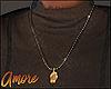 $ E x A - Hand Necklace