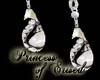 !PoE! PearlBlk Earrings