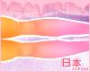 ☪ Ombres | Orange+Pink