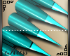 .:K:. Teal Nails