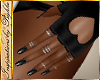 I~Blk Heart Gloves+Rings