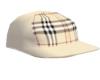 cream blk hat