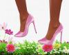 Pastel Pink Heel's