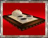 *TP Ivory Tea Tray