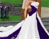 LC~Purple Satin Wedding