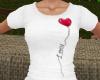 TF* Love Heart Tee shirt