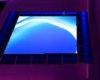 Blue Neon Dance Floor