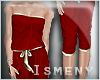 [Is] Coverall Red