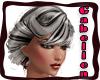 [GR] grey black hair up