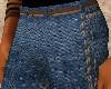 [W]Jeans w/brown belt
