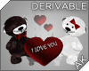 ~AK~ Teddy Pair + Hearts