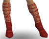Flame Red Boots