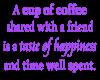 coffee saying