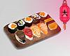 e sushi tray