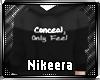[N] Conceal Sweater