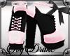 50s Saddle Heels Pink
