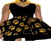 KidS-Paw Print Dress
