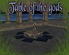 Table of the Gods