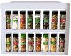 white spice rack