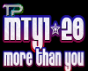 !TP Dub More Than YouVB2